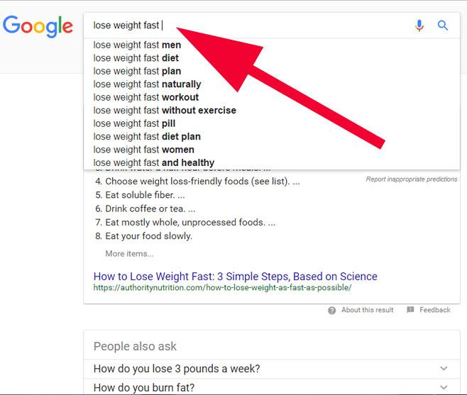 google-keyword-suggestions